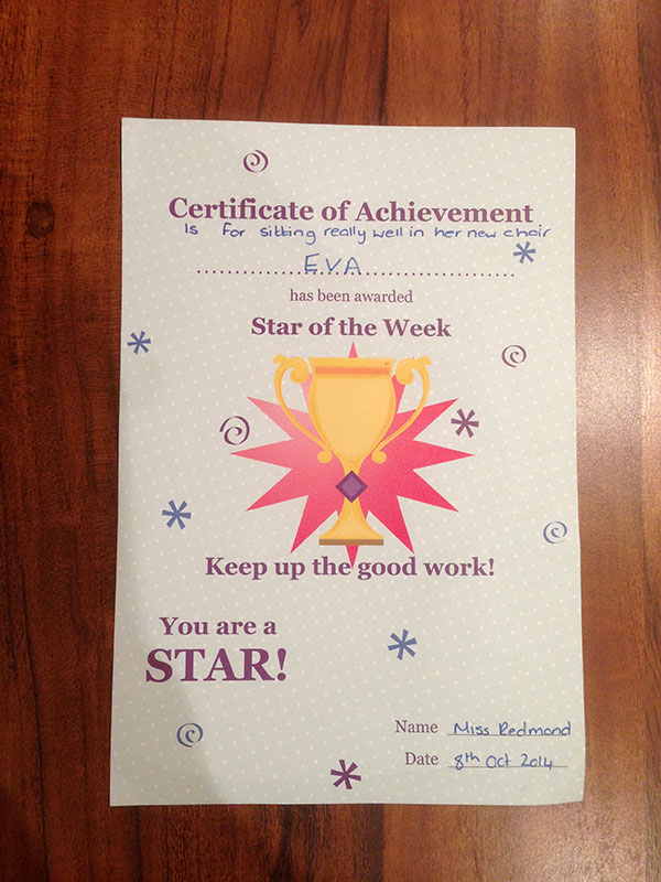 Eva - Star Pupil of the Week